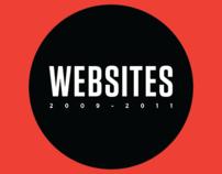 Web Sites ( 2009 - 2011 )