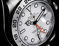 Rolex Brochure, Poster Advertising Work.
