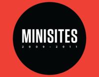 MINISITES ( 2009 - 2011 )