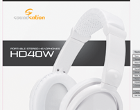 Soundsation Headphone Product Boxes