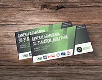 Ticket Design | UAE