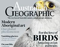 Australian Geographic, redesign 2016