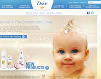 Dove Website REdesign /