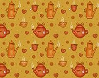 tea pattern