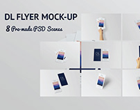 DL Flyer Mock-Up | Free Download