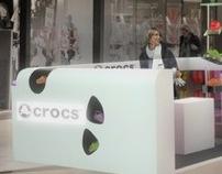 CROCS - system punktów sprzedaży.
