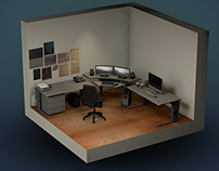 Isometric 3D Workspace