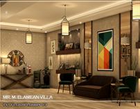Mr. ElAmean Villa-1st floor lobby-Morocco