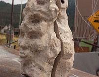 pintura escultura y mármol