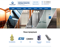 "Корпоративный сайт компании ""Могилевлифт"", СПб"