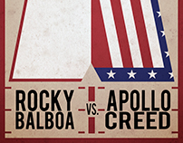 Rocky Balboa fight poster