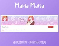Maria Maria   Visual Identity - Identidade Visual