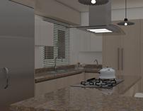 Cocina de apartamento Somoa