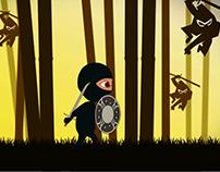 2D Ninja Fight Game Animation