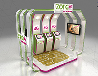 Zong Experience Booth