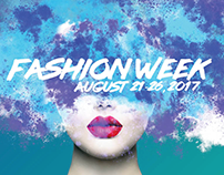 Sample Fashion Week Poster