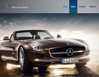 Mercedes-Benz Microsite / Vaculik Advertising