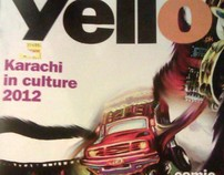 YELLO Magazine Article Illustrations