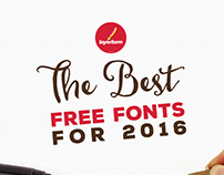 The Best Free Fonts for 2016
