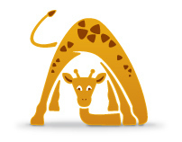 Giraffe — children's yoga studio