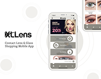 XLLens - Contact Lens & Glass Shopping Mobile App