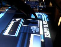 James Bond Multi Touch Surface @ BFI Sandpit