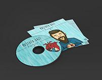 MUSTAFA GAZİ-HUZUR CD COVER