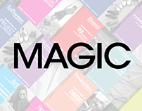MAGIC Fashion Tradeshow – Print, Digital, Web, etc.
