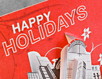 Red Circle Agency Christmas Card