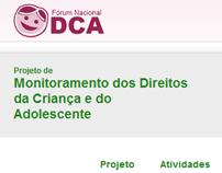 Site Monitoramento de Direitos - ForumDCA