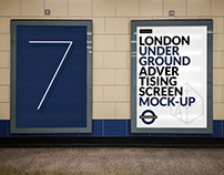 London Underground Ad Screen Mock-Ups 13