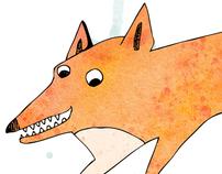 Brown fox | Lazy dog