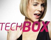 Techbox Logo Redesign / daren&curtis