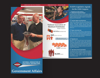 Government Affairs Tri-Fold Brochure