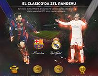 El Classico Infographic