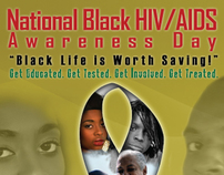 National Black HIV/AIDS Awareness Day 2009 Poster