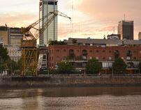 Cranes, Puerto Madero