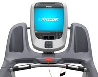 Precor Commercial Treadmill - 2010