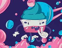 Berray- Ice Cream// Character Design