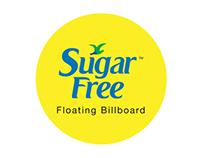 Sugarfree Floating Billboard