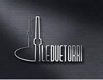 Logo Design - Brand Identity - Le due torri
