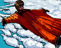 Wingsuit illustrations