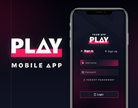 PLAY APP | GAMERS PLATFORM