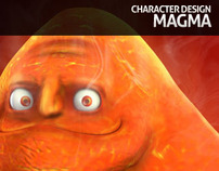 Magma - 3D Character