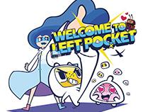Left Pocket's Board Banner