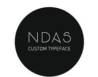 Ndas Custom Typeface