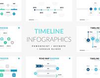 Timeline Slides for Powerpoint + Keynote + Google Slide