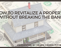 How to Revitalize a Property Without Breaking the Bank