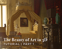 The beauty of art in 3D- Adobe Dimension Tutorial