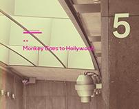 Monkey Goes to Hollywood